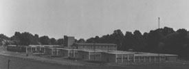 North view of 										the new buildings at Ditton Park.1956.